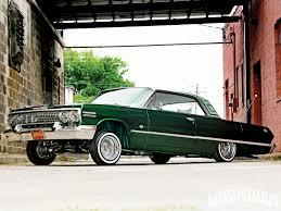 Picture Of Chevy Impala 1963 Chevrolet Impala Ss 327 V8 Engine Lowrider Magazine