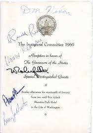 Nancy Reagan Signature Paper Trails Presidents