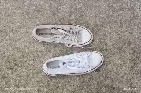 clean white converse love