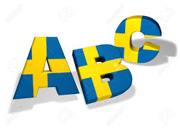 Sweden Flag Image Swedish Language And Education Concept With The Letters