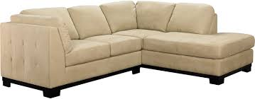 Living Room Furniture On Finance Oakdale 2 Piece Microsuede Sectional W Right Facing Chaise