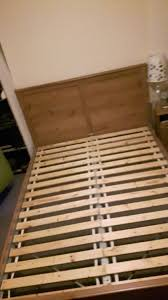 lade wood ikea aspelund bed frame with ikea sultan lade slats in