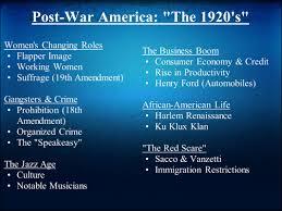 the roaring twenties u s society in the 1920 u0027s ppt video