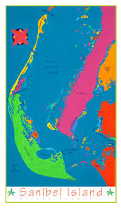 Sanibel Florida Map by Sanibel Island Florida