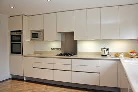 High Gloss Kitchen Cabinets by High Gloss Acrylic Cream German Kitchen Kitchens Pinterest