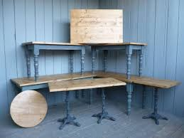 round tables plank tops restaurant tables made with pine tops and