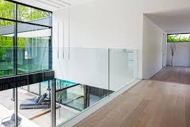 glass railing interior design ideas