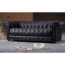 sofa design ideas black leather tufted sofa kaleb tufted leather