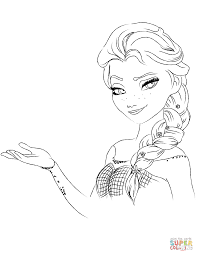 elsa from the frozen from the frozen 1 elsa coloring pages