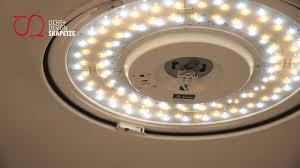 deckenlampe mit fernbedienung licht trend sparkle led deckenleuchte mit fernbedienung youtube