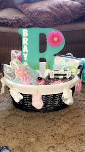 baby shower basket ideas baby shower gift for baby girl simple fairly inexpensive and no