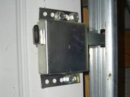 securing up and over garage door garage doors 50 awful secure garage door opener photos design