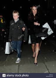 tana ramsey and son david beckham u0027s h u0026m cocktail party in