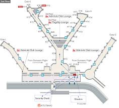 Chicago Ord Terminal Map by Chicago O U0027hare International Airport Arrivals And Departures