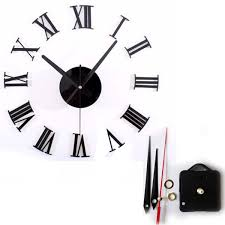 Home Decor Sale Sale Home Decor Large Wall Clock Designer Numbers Diy 50cm