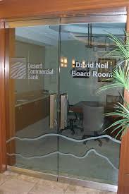 Framless Glass Doors by Desert Commercial Bank Frameless Glass Doors Sans Soucie