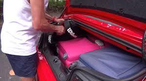 mustang convertible trunk ford mustang capacidad maletero