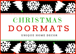 Holiday Doormat 19 Large Christmas Doormats For Festive Entryway Mats Uniq Home