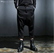 online cheap wholesale new fashion harajuku designer black mens