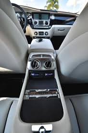 interior rolls royce ghost rare rolls royce wraith in carrara white for sale