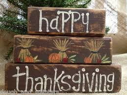 138 best thanksgiving wood blocks images on