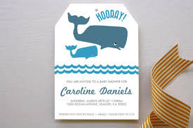 whale baby shower big whale whale baby shower invitations by minted