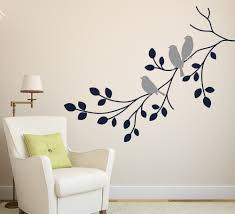 wall art designs unbelievable sticker wall art decals wall decals aliexpress grey sticker wall art decals birds staying on the branches leaves white fabric chair single