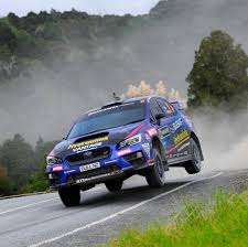 green subaru wrx hunt at home in subaru wrx sti ahead of otago rally subaru of