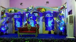 madurai decorators manavarai wedding stage decoration youtube