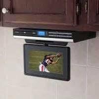 Under Cabinet Kitchen Tv Dvd Combo Under Cabinet Kitchen Tvs Audiovox Klv3913 12 In Lcd Tv Dvd Combo