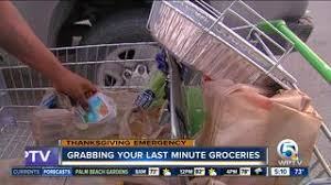 which grocery stores are open closed on thanksgiving wptv
