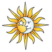 sketch of sun tattoos designs picture
