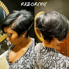 hot atlanta short hairstyles porsha williams short haircut is razor chic celebrity hair