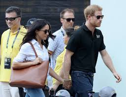 meghan markle and prince harry make first official appearance