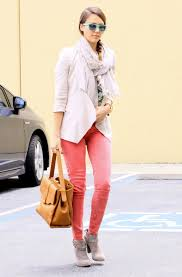 the effortless chic the effortless chic jessica alba white blazer look alike here