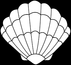 seashell printable coloring pages coloring home