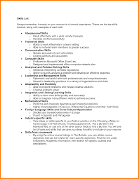 leadership skills resume exles leadership skills resume tgam cover letter
