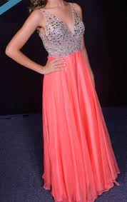 coral prom dresses fitted evening gowns formal dresses beaded