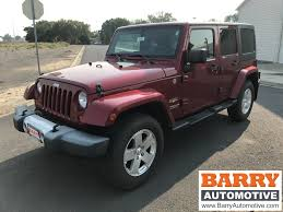 graphite jeep wrangler barry chrysler jeep dodge vehicles for sale in ephrata wa 98823