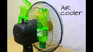 how to make air conditioner at home using plastic bottle easy