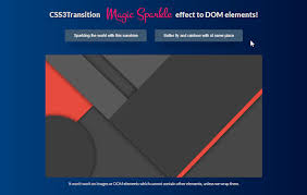 jquery design elements magic sparkle effect using jquery and canvas effect css3 transition