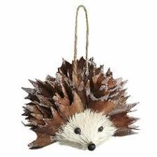 sweet hedgehog ornament crafts