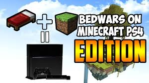 Map My Friends Bedwars In Minecraft Ps4 Edition Playing With Some Of My Friends