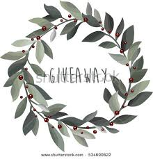 free christmas watercolor wreath vector download free vector art