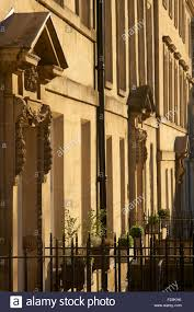 georgian neoclassical architecture bath somerset england stock