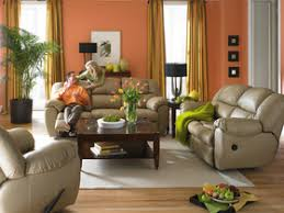 Leather Reclining Sofa And Loveseat with Best Tan Leather Living Room Set