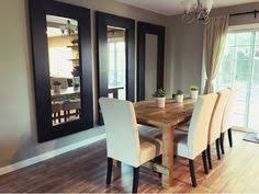Mirrors In Dining Room Large Mirrors In Dining Room Nice Idea For A Room That Feels A