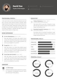 Creative Resume Template Word Clean Resume Template Word Resume For Your Job Application