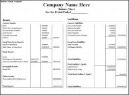 Excel Balance Sheet Template Free Top 5 Free Balance Sheet Templates Word Templates Excel Templates