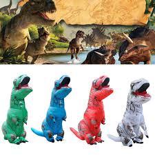 Blow Halloween Costumes Inflatable Dinosaur Rex Jumpsuit Blow Halloween Costume